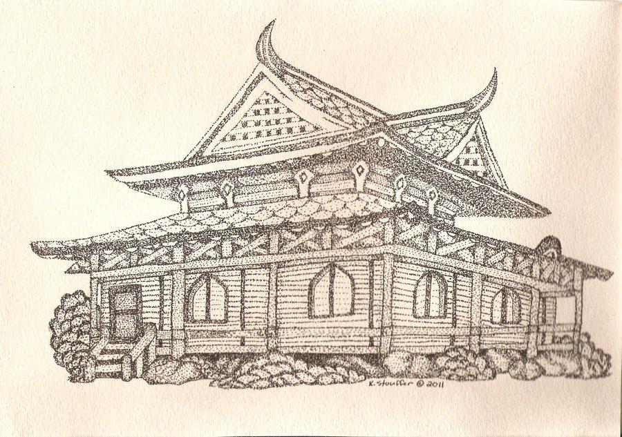 900x633 Japanese Pagoda Tea House By KellyGirl1 On DeviantArt