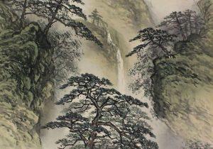300x210 Japanese Landscape Drawing