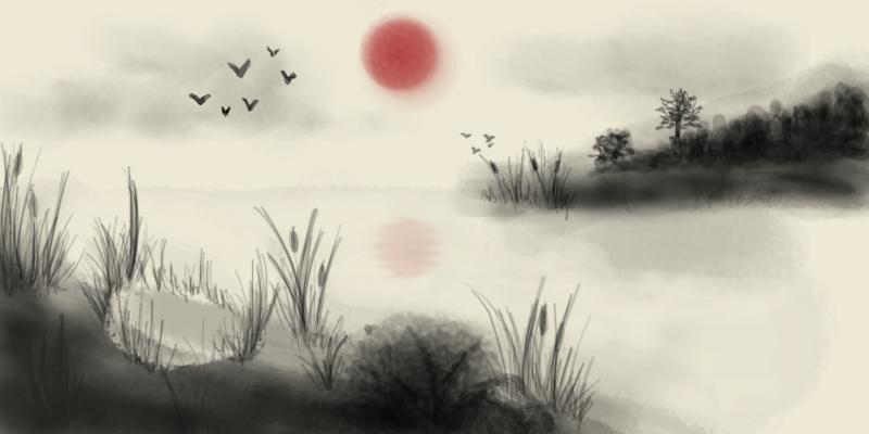 800x400 Morning Landscape'