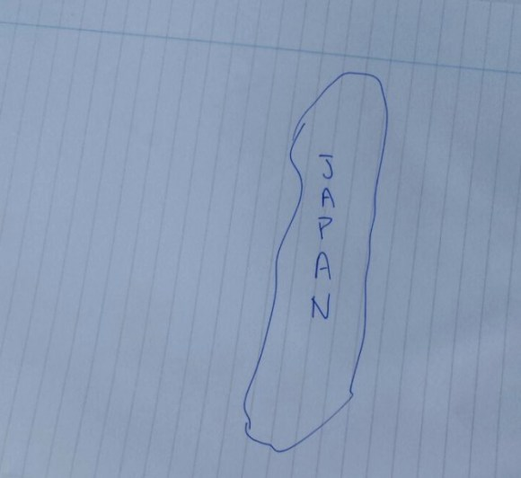 580x532 Could You Draw A Map Of Japan That Doesn'T Look Like Poop