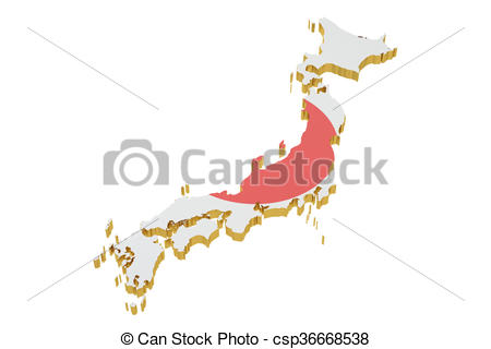 450x320 Japan Map Isolated On White Background Drawings
