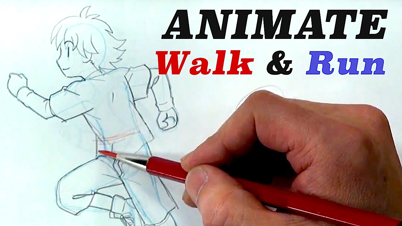 1280x720 Tips Amp Tricks On How To Draw Walking And Anime