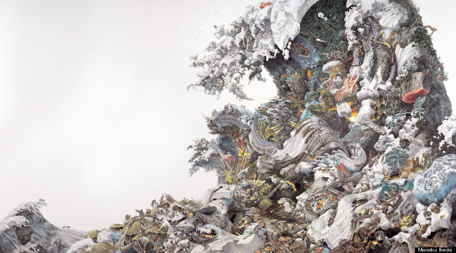 900x500 Manabu Ikeda, Japanese Artist, Creates Massive Drawings With Just