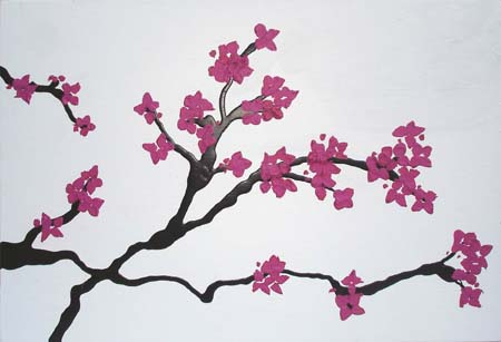 450x307 Japanese Cherry Tree Drawing