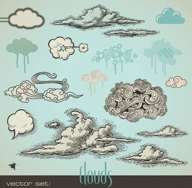 376x368 Cloud Free Vector Download (1,730 Free Vector) For Commercial Use