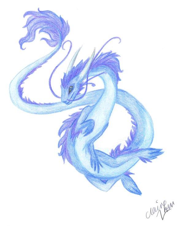 600x735 Japanese River Dragon By Lightningmcturner