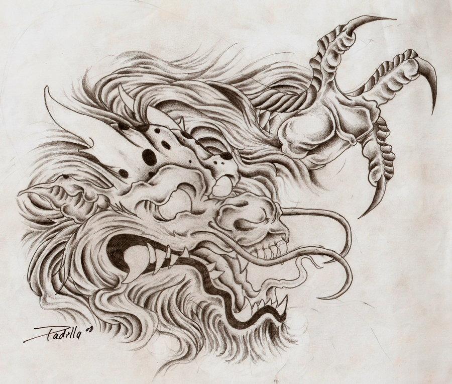 900x764 Dragon Head By Eltri