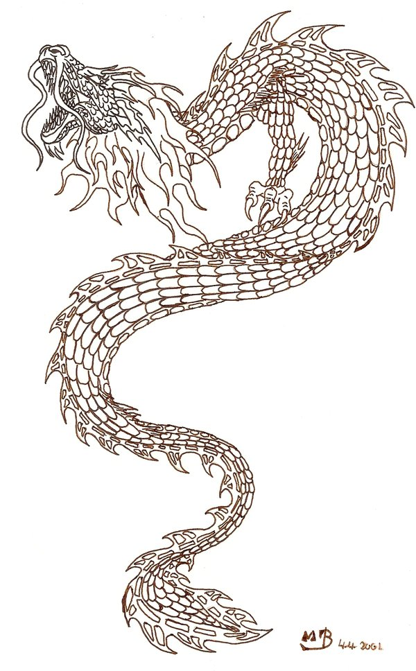 600x968 Japanese Dragon Tattoo Designs View More Tattoos Pictures Under