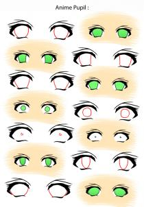 210x302 How To Draw Anime Eyes, Step By Step, Anime Eyes, Anime, Draw