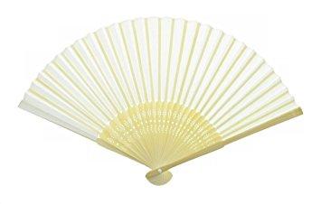 355x226 Blank Japanese Folding Fan (Sensu) For Drawing Or Painting