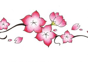 300x210 Drawings Of Japanese Flowers How To Draw A Flower Japanese Tattoo
