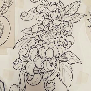 320x320 Pin By Anna Kav On Inked Tattoo, Japanese And Flowers