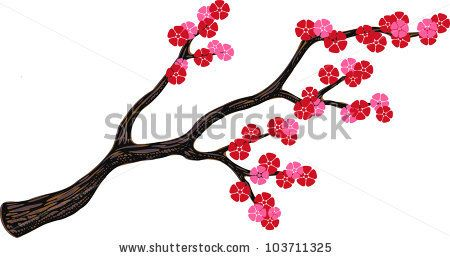 450x258 Japanese Cherry Blossom Stencil Things To Draw