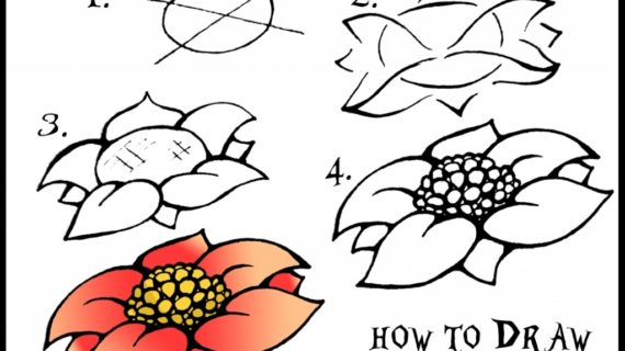570x320 Tag How To Draw Japanese Flowers Step By Step