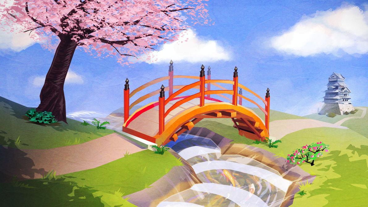 1191x670 Japanese Garden By Mcguinnessjohn On DeviantArt