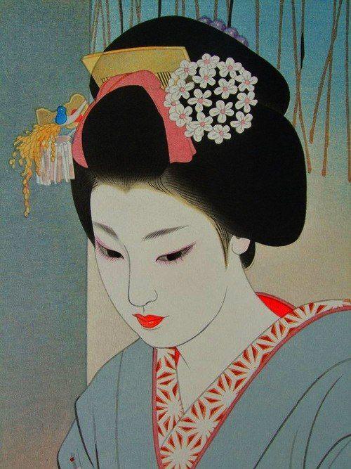 500x667 Art Geisha And Japanese