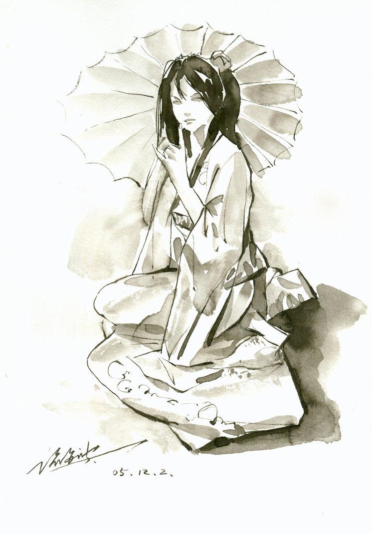 746x1070 Japanese Girl By Zhuzhu