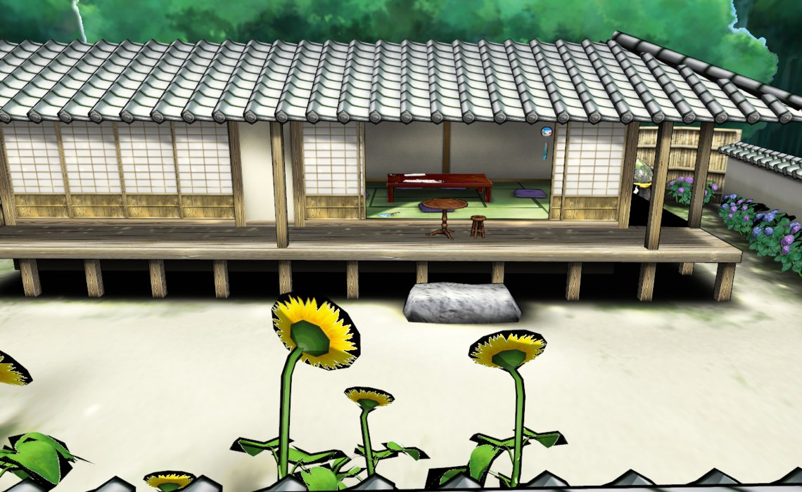 1140x700 Pack Dl Traditional Japanese House Drawing Style By Amiamy111