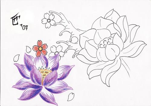 500x354 Top Tattoo Artists Phoenix, Japanese Lotus Flower Tattoo Designs