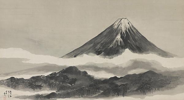 600x328 Tani Mt. Fuji Japan Edo Period The Met