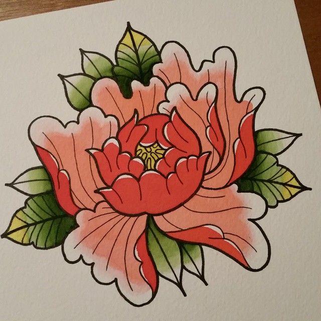 640x640 34 Best Japanese Peony Flower Tattoo Images On Peonies