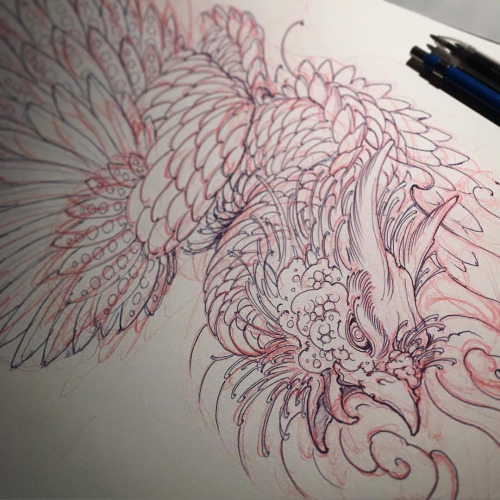 500x500 Horitsugu Tattoo Tattoos Tattoo, Phoenix And Irezumi