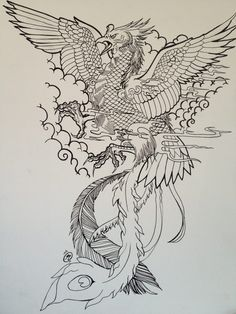 236x314 Japanese Phoenix Tattoo