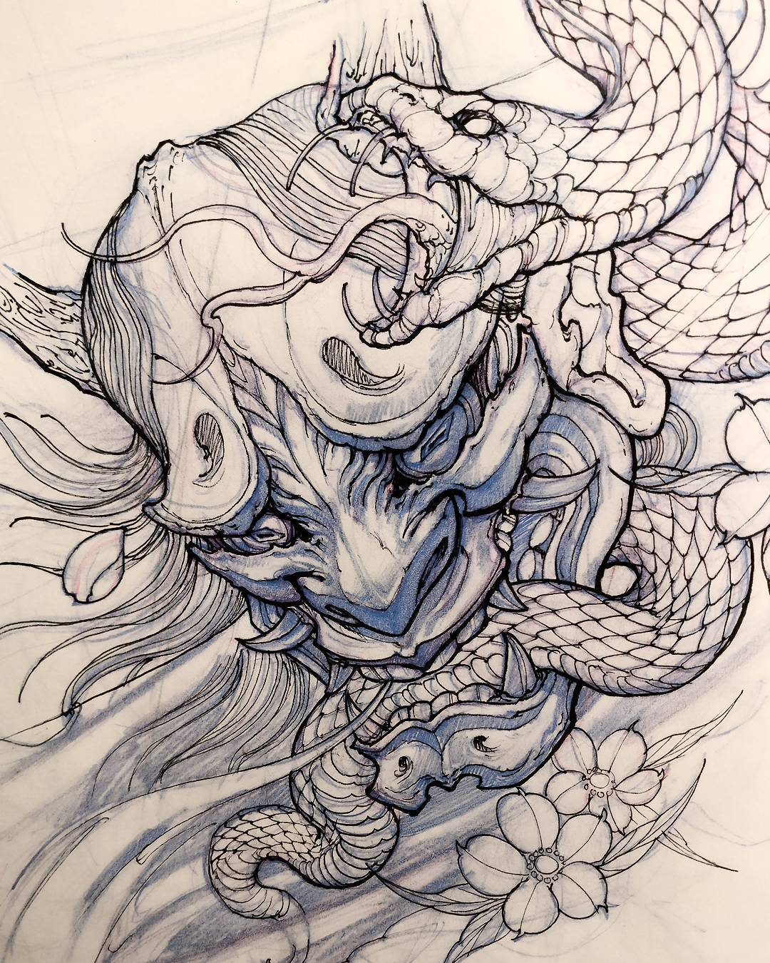 Pin by Talia Gonzalez on Tattoos | Snake drawing, Snake ... |Snake Tattoo Sketches