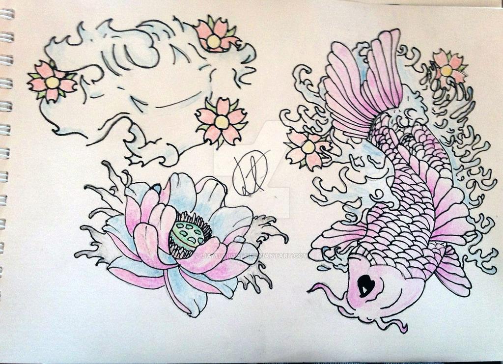 1024x741 Japanese Style Tattoo Art By Liamtargett