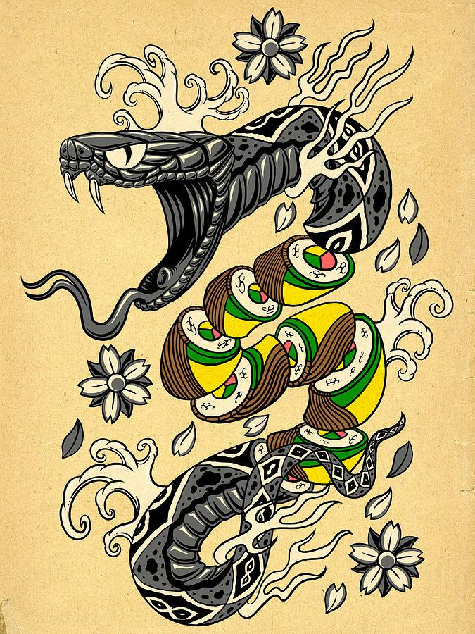 675x900 Snake Roll