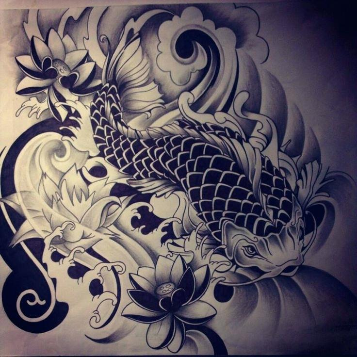 736x736 Japanese Designs To Draw Fish Tattoo 2 By On I Havell Ways Had