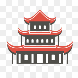 260x260 Free Download China Japan Temple Drawing
