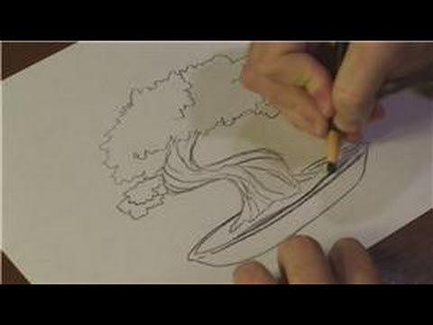 480x360 Nature Drawings How To Draw A Bonsai Tree