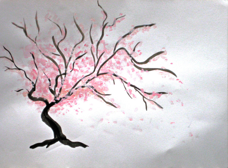 900x664 Japanese Cherry Tree By Lmmi