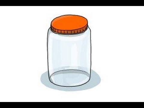 480x360 How To Draw A Jar
