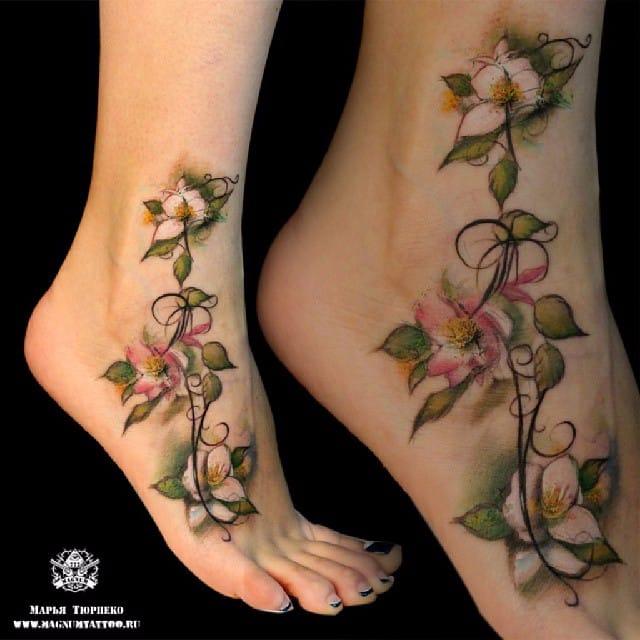 640x640 10 Splendid Jasmine Flower Tattoos Tattoodo