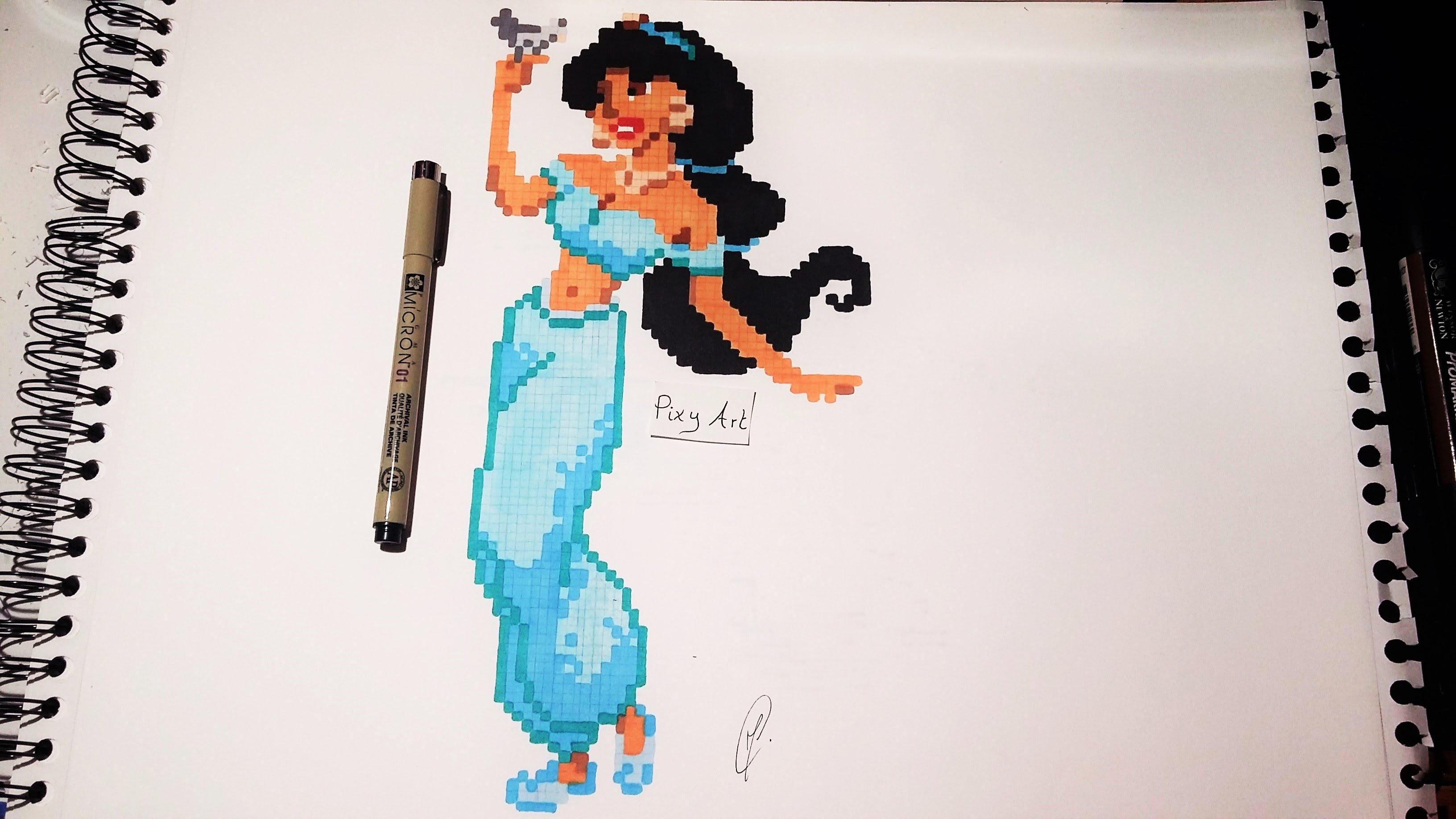 Jasmine Princess Drawing At Getdrawingscom Free For