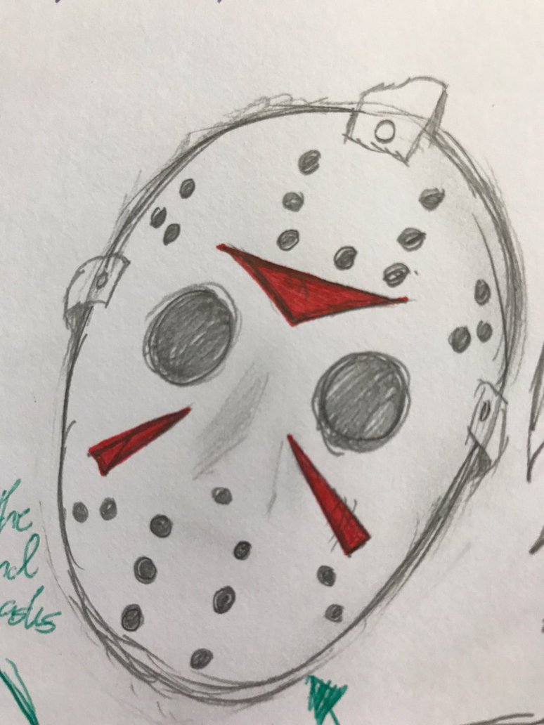 774x1032 Jason Voorhees Mask (Sketch) By Assassin17171