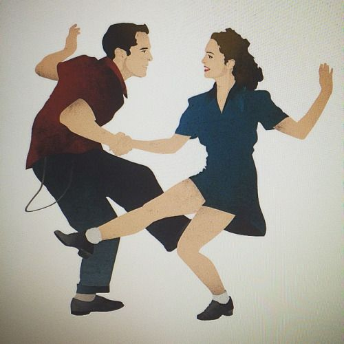 500x500 17th Oak A To Do List Swing Jazz, Dancers
