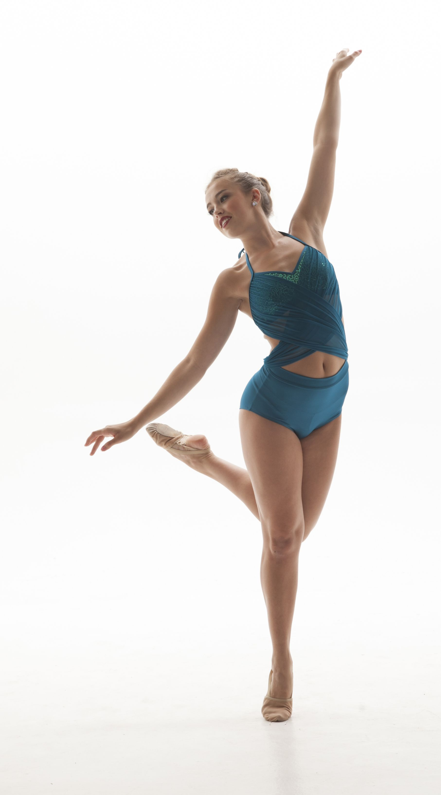 1813x3271 Teal Dance Costume Two Piece. Jazz, Lyrical, Or Contemporary Http