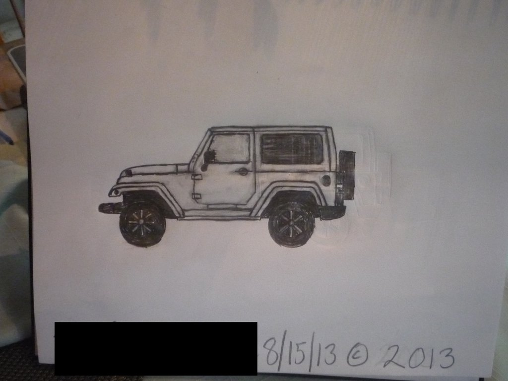 Jeep Wrangler Drawing At Free For Personal Use 2011 Jk Fuse Box 1024x768 Sketch Sahara 2 Door By Masterpeace23