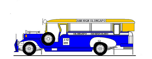 500x194 Bms Jeepney Olongapo San Marcelino Line With Color Yellow And Blue