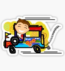 210x230 Jeepney Drawing Stickers Redbubble