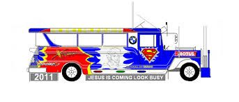343x147 Jeepney Drawing Front View