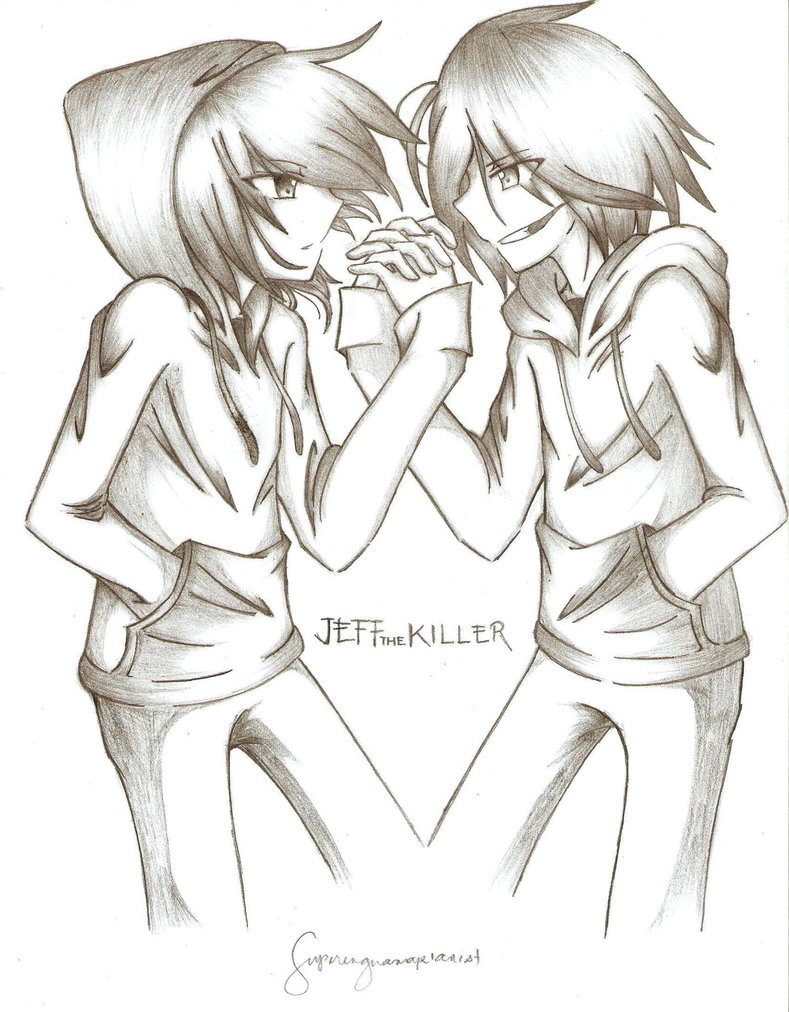 jeff the killer drawing cute at getdrawings com free for personal