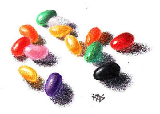 520x370 How To Draw Rocks With Colored Pencils Reference Images, Colored