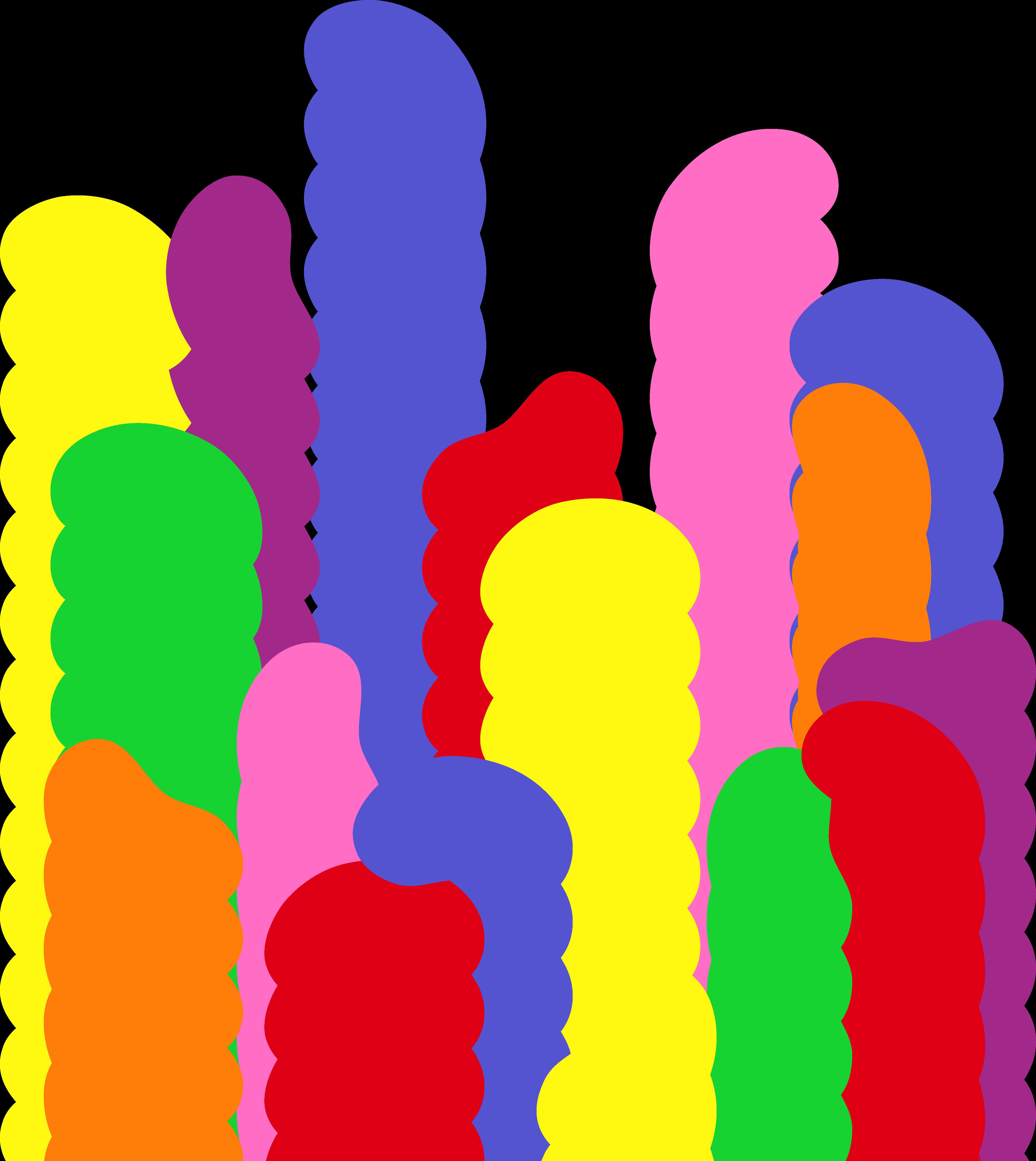 4284x4801 Simple Rainbow Jelly Beans