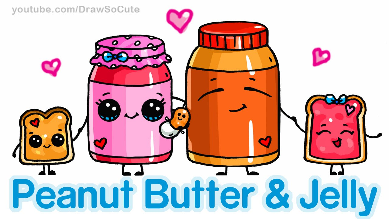 1280x720 How To Draw Cute Cartoon Food