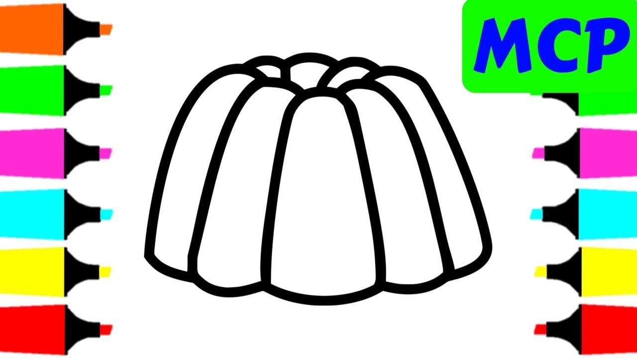 1280x720 How To Draw Soft Jelly For Kids