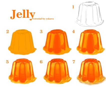 424x350 Jelly Tutorial By Yokava Tutorial Digital Painting